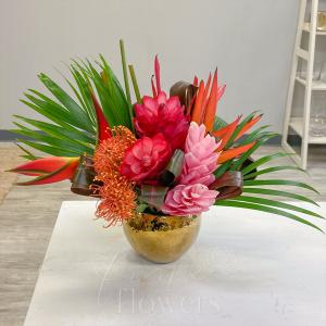 Mahalo Vase Arrangement in Middletown, NJ | Fine Flowers