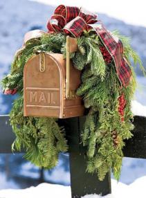Mailbox Swag holiday