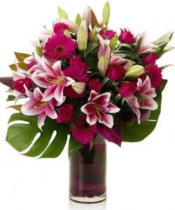 Majestic Bouquet Vase Arrangement