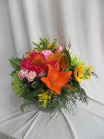 Majestic Fresh Mixed Vased Arrangement