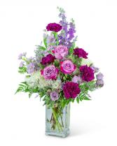 Majestic Garden Vase Sympathy