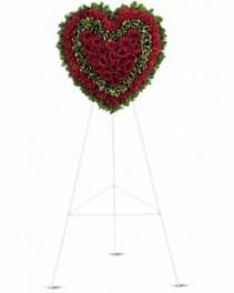Majestic Heart Wreath