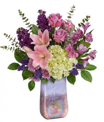 Majestic Lavender  Vase