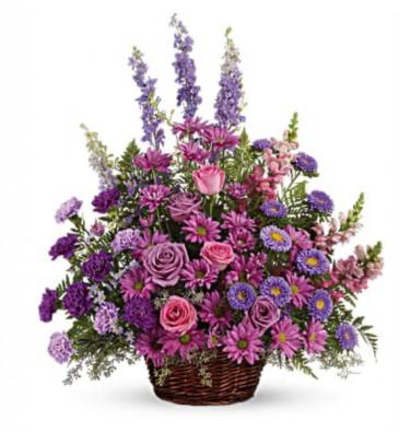 Majestic lavender/purple  Funeral