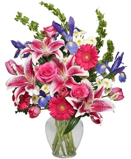 Majestic Magenta Floral Arrangement