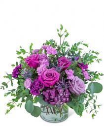 Majestic Magenta Flower Arrangement