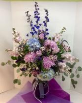 Majestic Purple Garden Vase