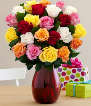 Majestic Roses Arrangement in Winston Salem, NC | RAE'S NORTH POINT FLORIST INC.