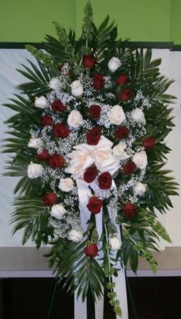 MAJESTIC ROSES SPRAY Funeral Spray