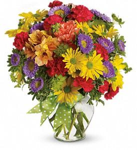 Make a Wish Fresh Floral Vase
