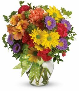 Make A Wish HEV136A in Henniker, NH   HOLLYHOCK FLOWERS