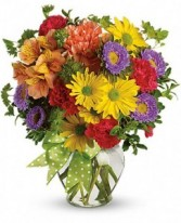 Make a Wish Vase Arrangement -  in Toledo, Ohio | MEADOWS FLORIST