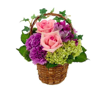 Make An Impression Basket Arrangment