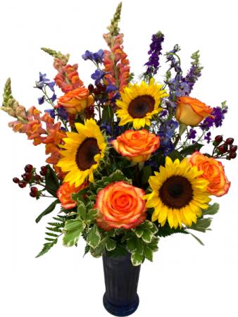 Make Her Day Shine Vase Arrangement