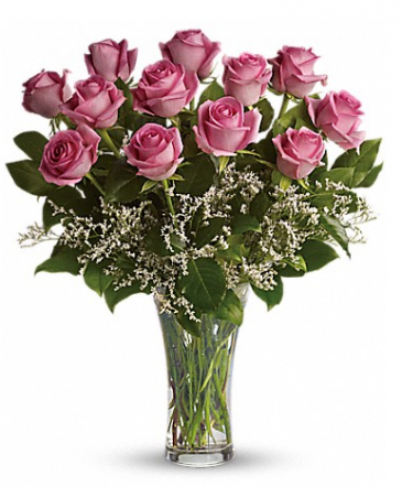 Make Me Blush Long Stemmed Pink Roses