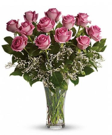 Make Me Blush Long Stemmed Pink Roses