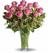 Make Me Blush Pink Rose Delivery