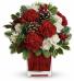 Make Merrry                    TWR04-1 Christmas Floral Arrangement