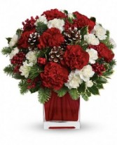 Make Merry Arrangement Holday Flowers