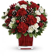 Make Merry Bouquet Christmas Arrangement