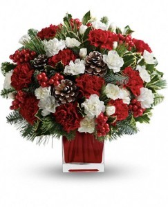 Make Merry Christmas Flowers