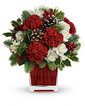 Make Merry Floral Arrangement