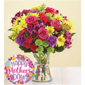 Fireworks For Mom- Balloon Included  in Bronx, New York | Bella's Flower Shop
