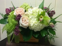 Make Mom Smile Basket Arrangement