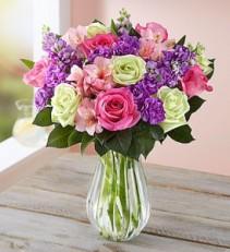 Make Mom's Day Bouquet Fresh Vased
