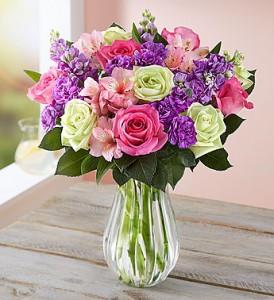 Her Day Bouquet Fresh Vased