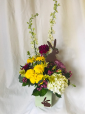 Make Somebunny Happy Fresh Vase Arrangement