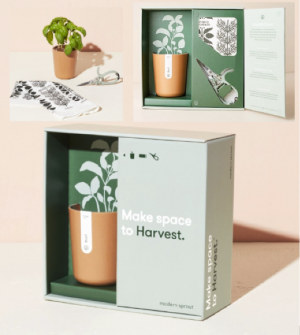 Make Space to Harvest | Grow Kit Gift Box in Burns, OR | 4B Nursery And Floral