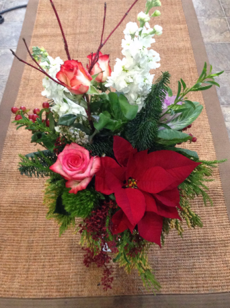 Make the Season Bright Vase Arrangement