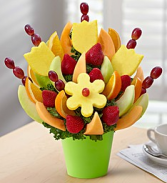 Make their day fruit bouquqet Delicious Cut fruit arrangement