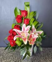 Make You Smile Red Rose Arrangement