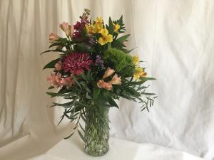 Make You Smile Vase in Norway, ME | Green Gardens Florist & Gift Shop