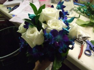 Making Bouquets!  in Canon City, CO   TOUCH OF LOVE FLORIST AND WEDDINGS