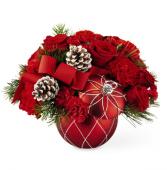 Making Spirits Bright Bouquet Christmas Arrangement