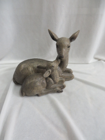 Mama and Baby Deer Gift Item