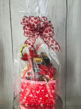 Man candy Snack basket