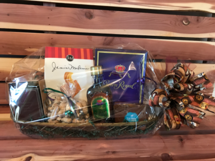 Man Cave Adult Time Gift Basket