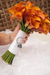Mango Cala  Bouquet Bridal Bouquet