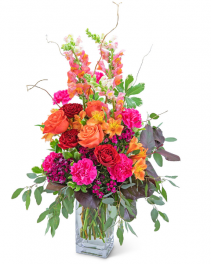 Mango Showstopper Flower Arrangement