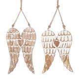 Mango Wood Angel Wings