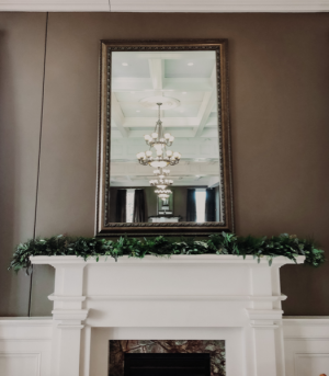 Mantle Garland  Wedding Arrangement  in Biloxi, MS | Rose's Florist