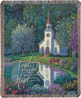 Manual 50x60-inch Tapestry Throw - Sanctuary