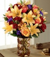 MANY THANKS BOUQUET Fall Arrangement