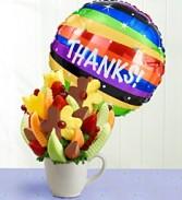 Many Thanks Fruit Bouquet Edible Fruit Bouquet