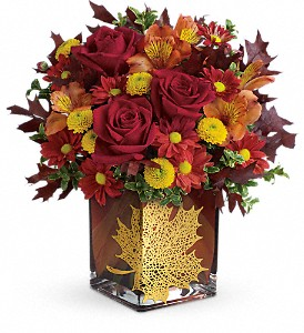 Maple Leaf Floral Bouquet