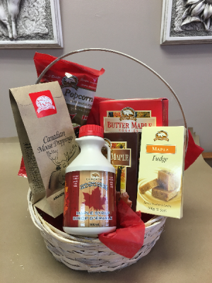 Maple Treats Gift Basket in Newmarket, ON   THE ROSE PROS